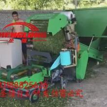畜牧养殖牛羊用全自动青贮打包机秸秆青贮打捆机价格图片