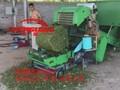 加工养殖草料苞米秸秆青贮打捆机全自动青储打捆机价格图片
