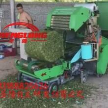 高品质全自动青储打捆机专业养殖皇竹草青贮打捆机价格图片