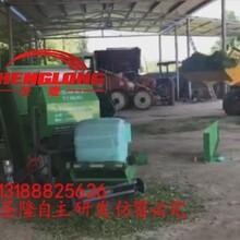 高速打包网线缠捆青贮打捆机全自动青贮打包机生产厂家图片