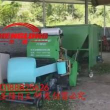 全自动青贮打捆机加工青储饲料苞米青储打包机价格图片