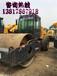 阿勒泰二手压路机买卖交易市场/二手22吨轮胎压路机