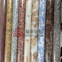 厂家定制直径不锈钢木纹管热转印仿青花瓷木纹管