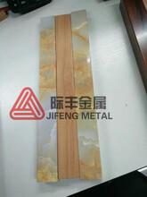 佛山定制转印不锈钢木纹管6565室内装饰表面不锈钢仿大理石纹