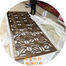 浙江私人会所砂面不锈钢屏风厂家完美设计