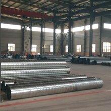 廠家大量供應:白鐵皮螺旋風管、通風管道、除塵器配套管件圖片