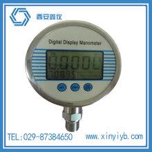 0.1级西安精密数字压力表/0.5级数字压力表/0.05级精密数字压力表图片