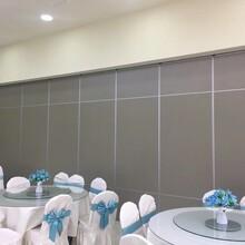 定制深圳南山宴会厅活动隔断折叠屏风墙安装图片