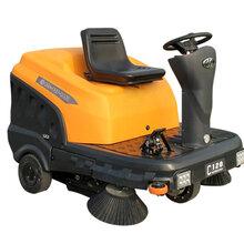 铭创C120小型路面清扫车电动灰尘清扫机工业驾驶式扫地机视频表演品牌图片驾驶式小型迷你扫地车