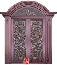 对开铜门上海铜门打造名门之秀经典铜门品牌