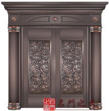 浙江铜门供应对开铜门别墅铜门打造古典铜门