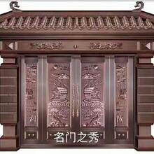 2017新款上海铜门别墅铜门防盗铜门