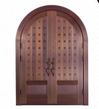 上海铜门纯铜铜门厂家来样设计定制打造