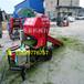 小型青貯飼料打包機玉米包膜青儲機玉米桿青儲打包機玉米收獲打捆一體機