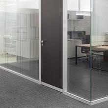 西安玻璃隔断、高隔间、百叶隔断、活动隔断价格图片