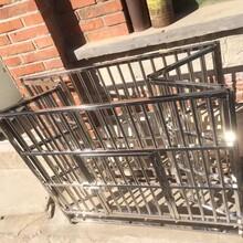 折叠不锈钢狗笼子方管和圆管结合设计