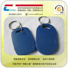 高档小区ID钥匙扣卡门禁钥匙扣卡深圳厂家低频卡