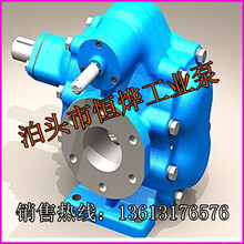 KCB不锈钢齿轮油泵价格,恒烨卧式KCB-300不锈钢齿轮油泵