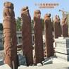石雕文化柱广场图腾柱景观柱