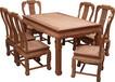 ?#21644;?#24220;红木龙腾西餐桌7件套缅甸花梨木厂家直销