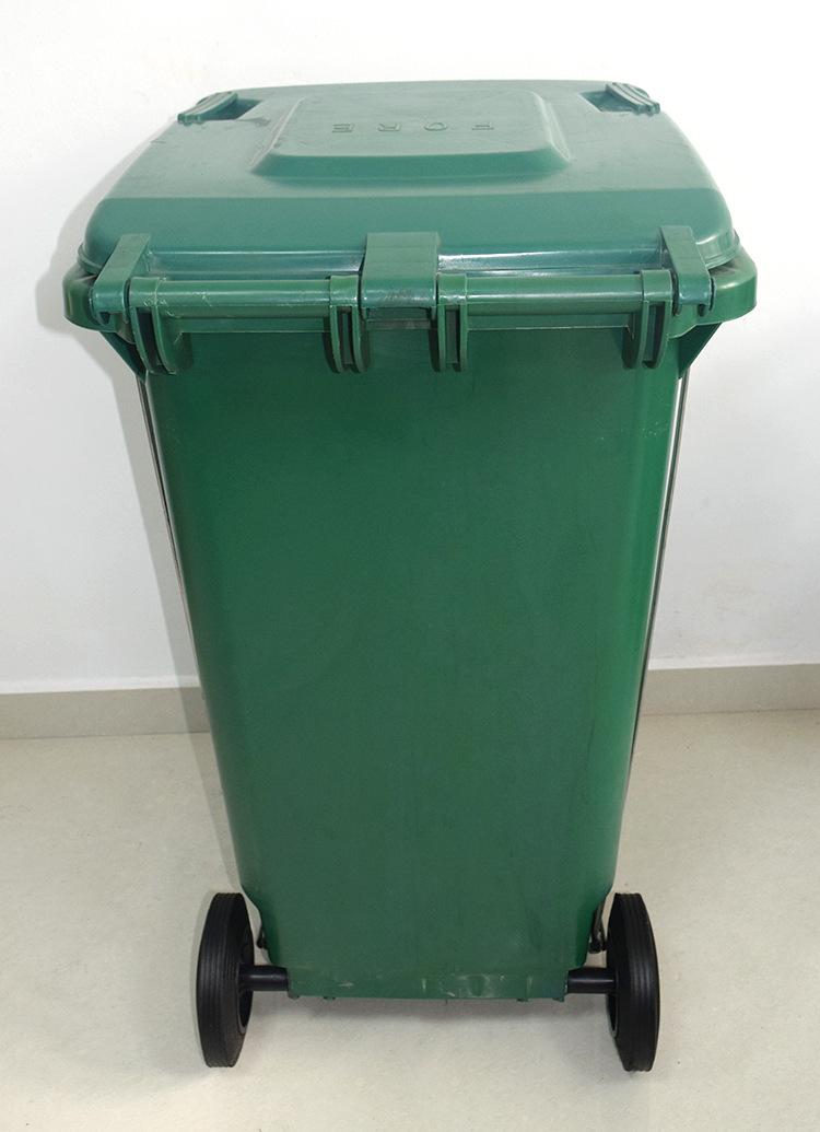 苏州滏瑞户外垃圾桶新款240l脚踩垃圾桶环保卫生垃圾