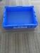 厂家批发销售新款蓝色HP-4A周转箱,外435-325-110塑料HP箱