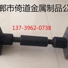 现货供应精轧螺纹钢PSB500精轧螺母M20图片
