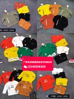 北京童装批发市场哪好,秋冬新款韩版中小童装,2至7岁童装长袖T恤衫,一手货源童装批发图片
