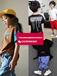 2018年春夏季儿童服装流行趋势虎门厂家直销一手货?#35789;?#23578;潮牌童装短袖T恤套装货到付款