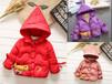 廣西梧州童裝批發市場進貨技巧廠家直銷圣誕元旦低價處理兒童羽絨服棉衣外套牛仔褲貨源
