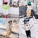 浙江舟山夏天流行熱門兒童衣服批發中小童洋氣時髦兒童套裝批發貨到付款童裝批發