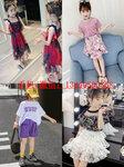 广州童装批发拿货在哪里韩国童装批发微信韩版儿童套装连衣裙货源货到付款热卖爆款童装