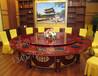热销特惠酒店餐厅包厢宴会餐桌广西柳州电动火锅餐桌批发价