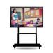 65寸壁掛幼兒園多媒體電子白板觸摸屏電視會議用教學一體機