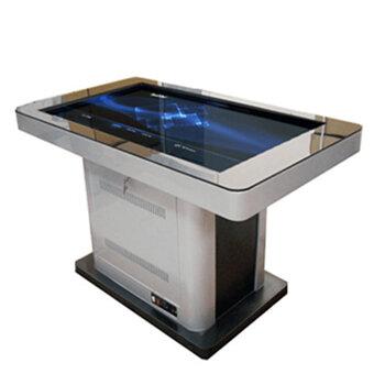43寸智能互動桌可訂制智能電容觸摸桌自助簽約桌觸摸茶幾