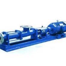 单螺杆泵G系列粘稠状液体输送泵G25-2转子式容积泵图片