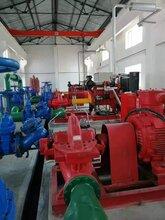 沈阳柴油机消防双吸泵315电动消防泵柴油机消防泵厂家直销图片