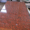 红色大花染色板河南雅典红毛板厂家大量供应