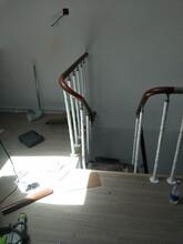 钢木楼梯实木楼梯护栏复试楼梯图片