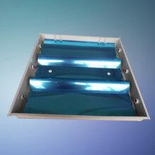 14W铝合金边嵌入式净化灯盘,浙江T5暗装洁净灯盘图片