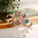 水鉆金屬植物胸花個性定制服飾配飾別領扣針胸花