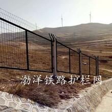 坚守匠心精神渤洋网栏焊亮防护人生金属铁丝护栏网铁路防护栅栏的生产研究