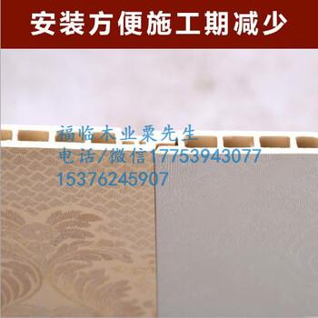 福临锦州生态木204长城板效果图,安装图