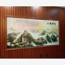 蚌埠市300平縫竹木纖維集成墻面出廠價圖片