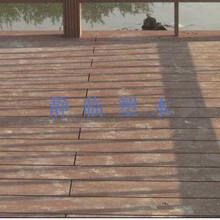 固原市露台木塑地板定尺生产图片