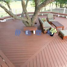 盘锦市塑木景观地板墙板定制图片