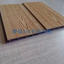 上海木塑户外地板定尺生产图片