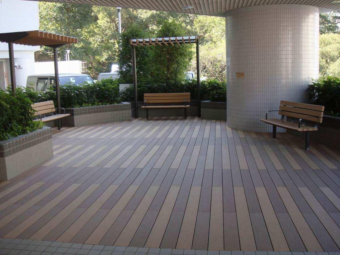 嘉义县户外PE地板装饰效果展示