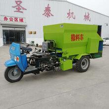 养猪自动撒料车电动喂料车专业生产撒料车厂家饲料喂料车视频图片
