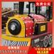 儿童电动小火车价格丨金山无轨小火车游乐设备物超所值